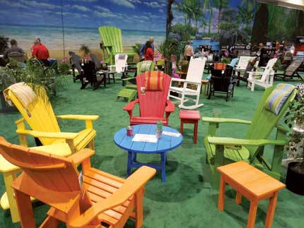 Beau Nationwide Dipped Its Toe Into The Outdoor Furniture Category With A  Colorful Offering From C.R. Plastic