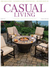 Casual Living cover for March 2014