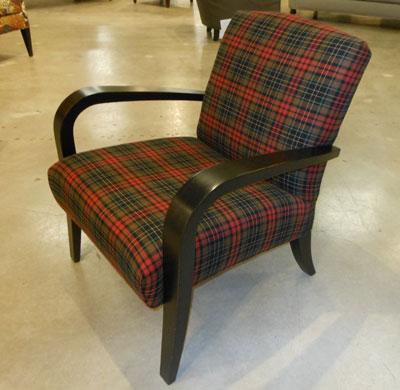 Charmant Sam Moore Tartan Chair
