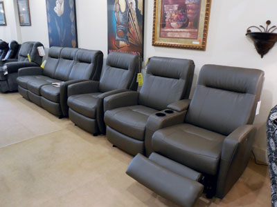 Best Home Furnishings Motion Theater Seating Is A Strong Seller At Indiana Based  Schmitt Furniture