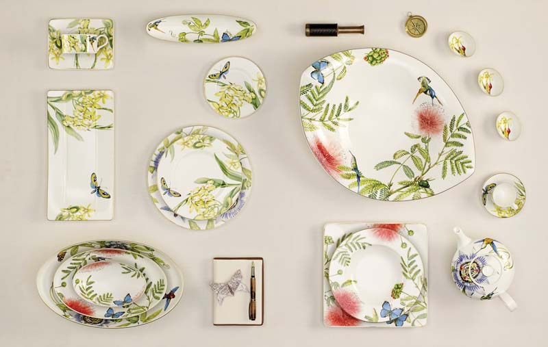 The Amazonia pattern has been conceived as a full coffee and table service. villeroy-boch.com  sc 1 st  Home Furnishings News & Gallery - HFN | Home Furnishings News
