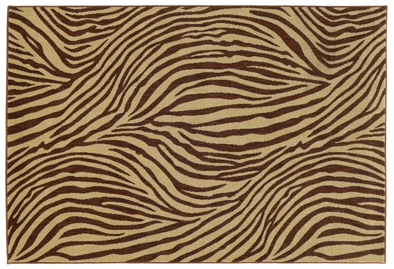 Animal prints are among the themes in Oriental Weavers' new licensed collections with Tommy Bahama. owrugs.com