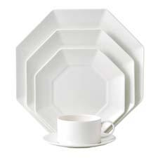 Inspired by neoclassical architectural shapes, Ashlar is a new core white program with 36 essential pieces. wedgwood.com