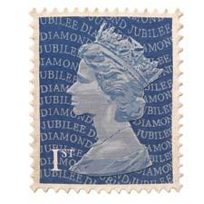 Stamp Rugs has extended its exclusive license with the Royal Mail to offer two limited-edition Diamond Jubilee designs, including this Machin pattern of a U.K. postage stamp. stamprugs.com