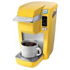 The company's Mini Plus Brewing Systems are now available in banana, cobalt and white. keurig.com