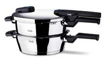 The Vitaquick collection, with a host of safety innovations, is the next generation in the company's line of pressure cookers. fisslerusa.com