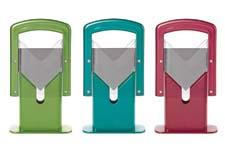 The Bagel Guillotine, the company's bagel-slicing product, is now available in raspberry, teal and olive. lifetimebrands.com