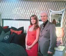 Jane Seymour and Michael Amini unveil the latest swanky furnishings.