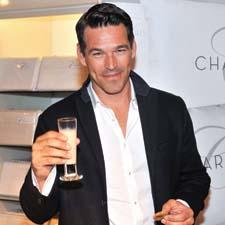 "Eddie Cibrian of ""The Playboy Club"" made an appearance for Charisma at Bloomingdale's 59th Street store.Photo: Henry Dziekan/Getty Images"