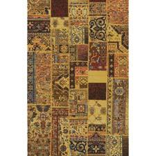 Momeni's Vintage collection of power-loomed rugs, which emulate overdyed, patchwork handknotted rugs, continues to grow with several bright colorways. momeni.com