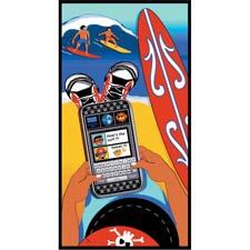 Loftex is tapping social networks with Texter Dude, a new beach towel with a fun design and bright colors. loftexus.com