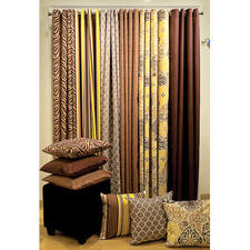 A major trend in window treatments is the use of fabrics that can go either indoors or outdoors. The company is addressing this with ParaSol, a collection of indoor/outdoor window panels and cushions. elleryhomestyles.com