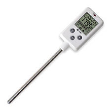 CDN?s DTC450 candy thermometer is preprogrammed with the seven basic candy stages.