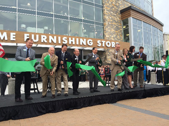 Nebraska Furniture Mart Cuts Ribbon On Texas Location Home