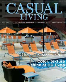 Casual Living cover for May 2015