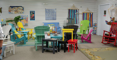 The New Outdoor Gallery Includes Seating, Dining And Accessories, Including  Adirondack Style Outdoor Chairs