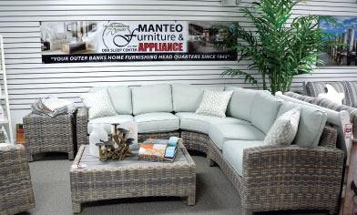 A Sectional Group By BeachCraft, A Division Of Capris Furniture, Is Part Of  The