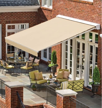 Marvelous Solair Awnings Provide Extended Shade