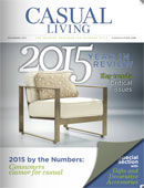 December 2015 cover for Casual Living