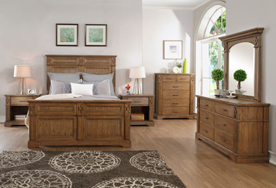 Offer your customers the bedroom of their dreams. The Provence bedroom collection features clean lines and transitional styling that will fit perfectly in any bedroom. It's constructed of solid wood and wood veneer. Each storage piece o ers added value that your customers will truly appreciate from the built in charging station on the nightstand to the English dovetail drawer construction.