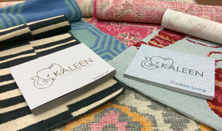 The catalogs cover the rug producer's two main channels.