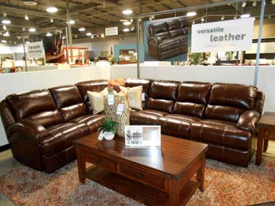 ... And This Giorgio Modular Power Motion Sectional ($1,999 With Package  Savings As Shown) From Man Wah Is A Great Seller, Said Ashley Hood, ...