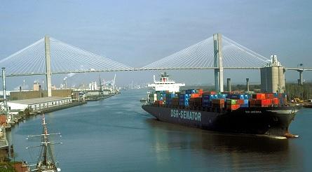 Ga , Va  ports file for East Coast port cooperation