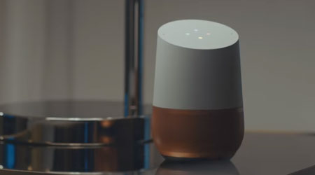 Google Home Accents
