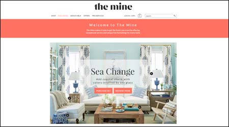 The Mine website