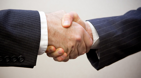 promoted handshake