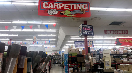 "Soft home categories ""working well"" at Ollie's"