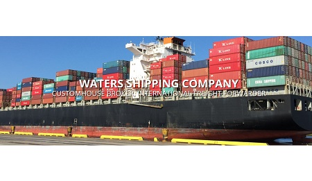 waters shipping