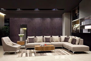 Foshan City Shidai Furniture Co. Showed Its Line Of Upholstery At The Sept.  11 14 CIFF Shanghai Show.