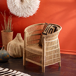 The Malawi Wicker Chair.