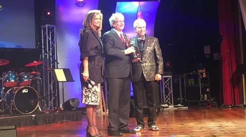 Donald Flanders inducted into AHF Hall of Fame