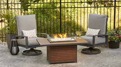 The outdoor greatroom company introduces new 2018 fire pit for Great outdoor room company