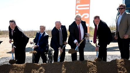 Ashley breaks ground on new distribution and fulfillment center