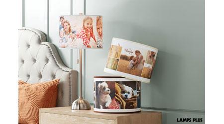 Lamps plus launching custom lamp shade and pillow program home new custom program lampsplus aloadofball Gallery