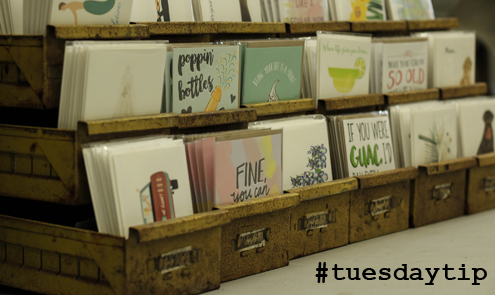 Tuesday tip greeting card displays gifts dec tuesday tip card displays displaying greeting m4hsunfo