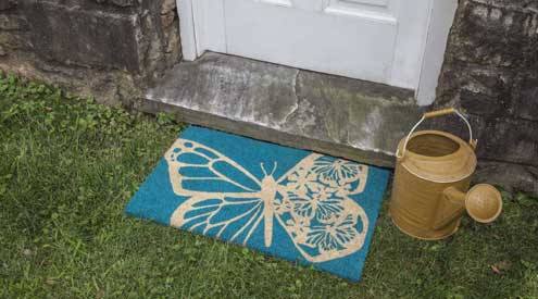 Entryways introduces doormats for spring and summer