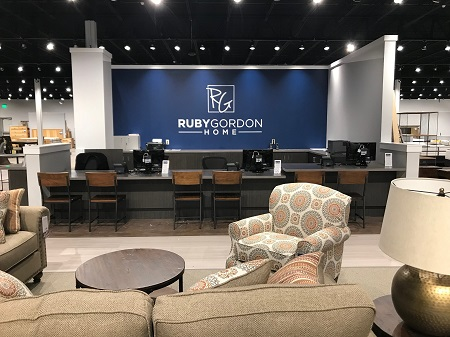 A View Of The Central Customer Service Desk In The New Ruby Gordon Home In  The Rochester Suburb Of Greece, N.Y.