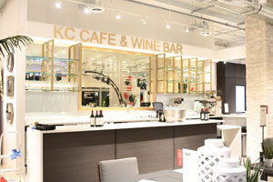 Attirant The KC Cafe U0026 Wine Bar At City Furnitureu0027s New Midtown Miami Showroom.