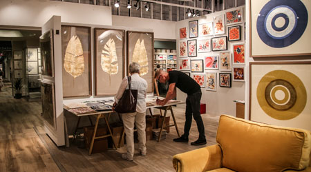 Salon West A Juried Showcase Of Better Home Decor That Debuted Year Ago
