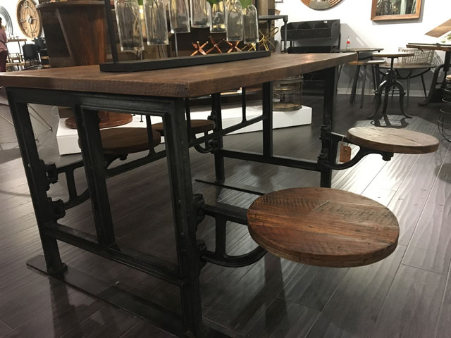 The Alcatraz Collection Dining Table