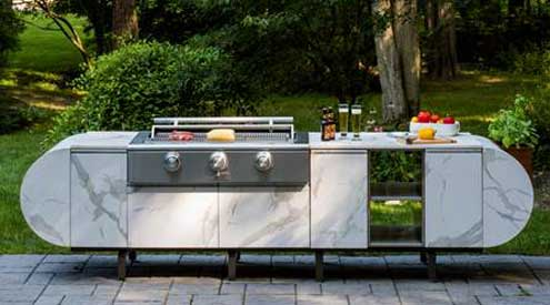Captivating ASA D2 Modular Outdoor Kitchen By Daniel Germani And Brown Jordan Outdoor  Kitchens Takes Home Design Ideas