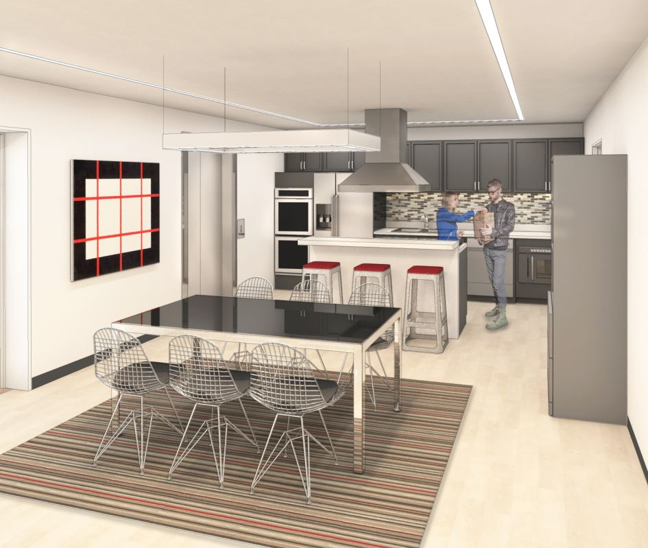 Bienenstock Kitchen Rendering