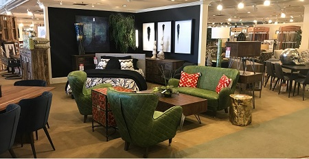 Another Pop Of Color At Kittleu0027s Flagship Castleton, Ind., Store Courtesy  Of Moeu0027s Home Collection.