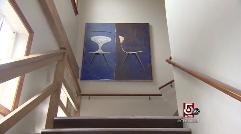 Saloom profiled on Boston-area TV news station - Furniture Today