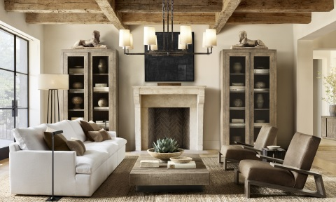 Restoration Hardware Introduces New Collections Collaborations With