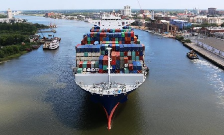Ga  Ports post second busiest month in July - Furniture Today